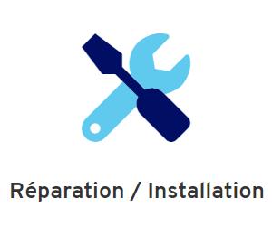 Réparation installation