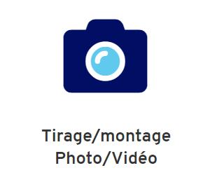 Tirage montage photo vidéo